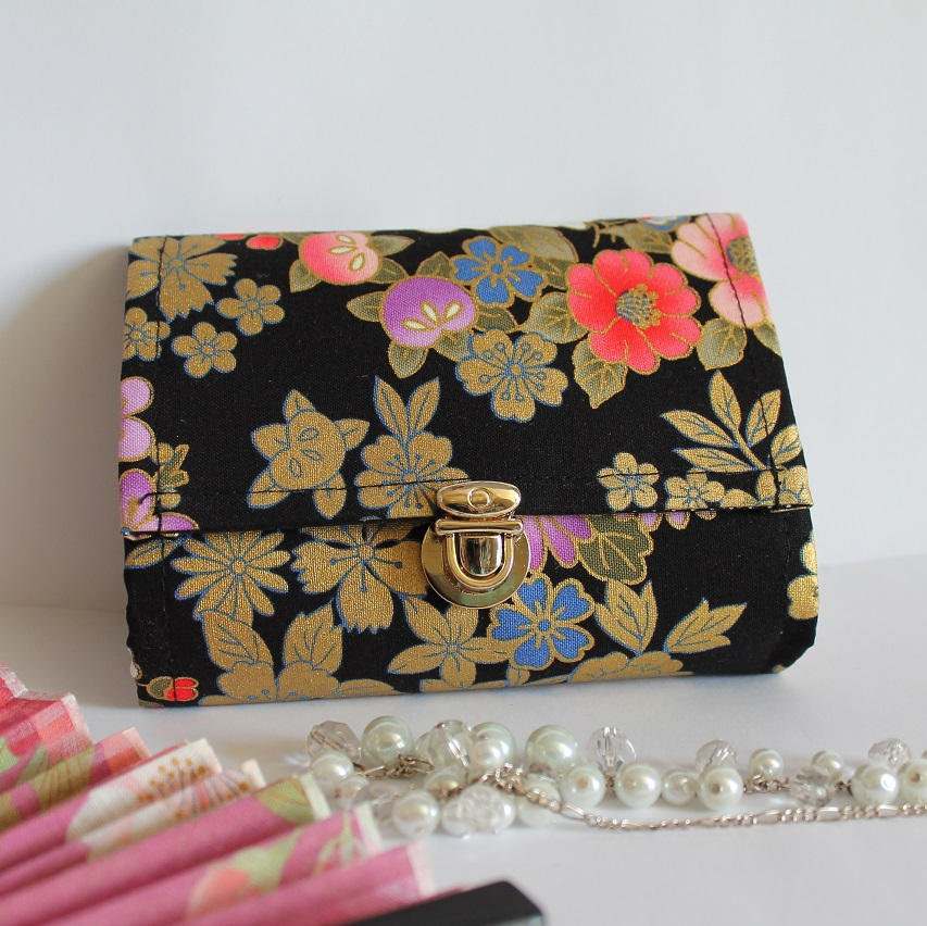 "5.5"" cards and coins wallet  - Black"
